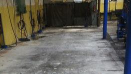 Úklid stavebních hmot před